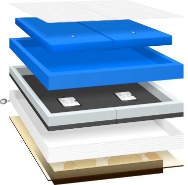 Komponentenansicht Moonlight XL-Comfort